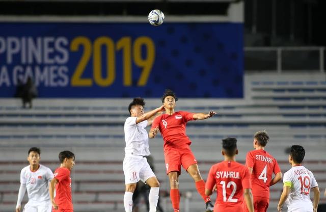 U22 Việt Nam 1-0 U22 Singapore: Đức Chinh ghi bàn quý giá - 18