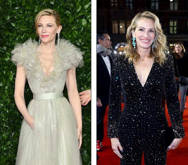 Cate Blanchett đọ sắc với Julia Roberts - 1