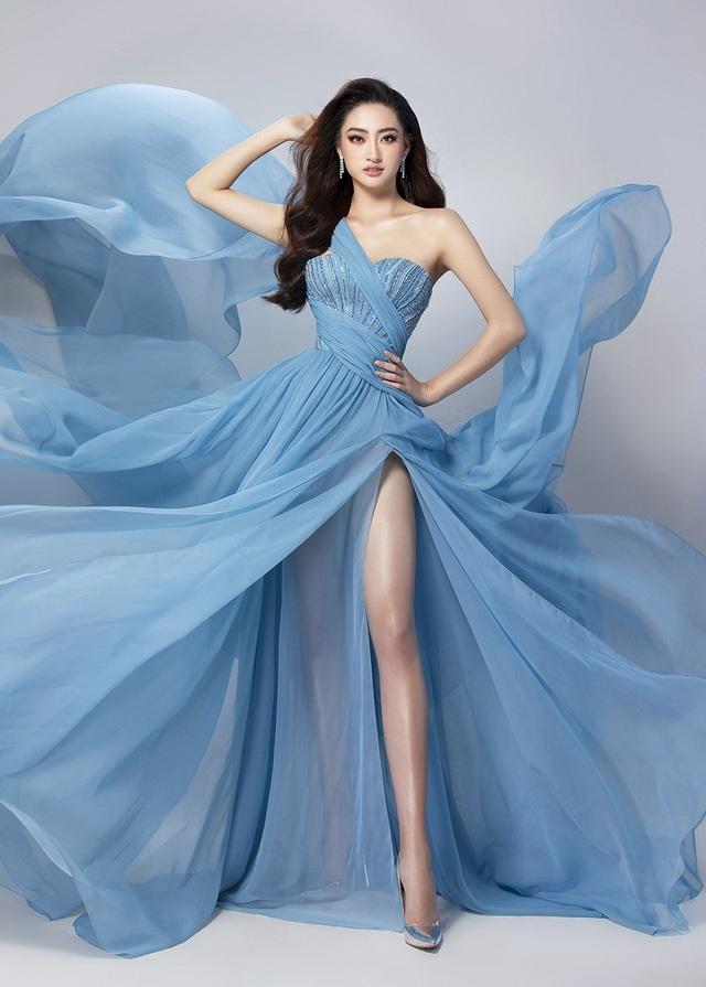 Lương Thùy Linh bật mí chiếc váy sẽ mặc thi Top Model - 2