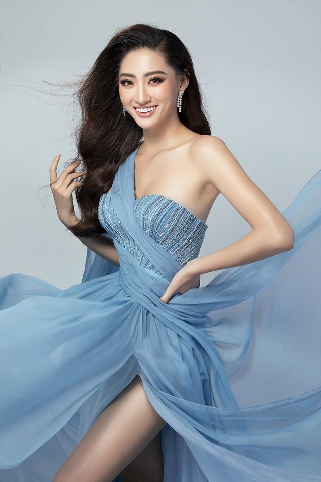 Lương Thùy Linh bật mí chiếc váy sẽ mặc thi Top Model - 8