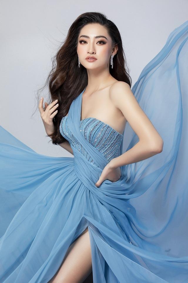 Lương Thùy Linh bật mí chiếc váy sẽ mặc thi Top Model - 5