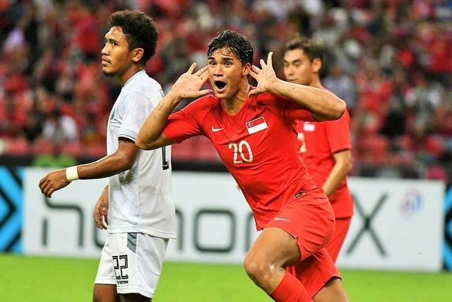 Đâu là cầu thủ nguy hiểm nhất của U22 Singapore, có thể đe dọa U22 Việt Nam? - 1
