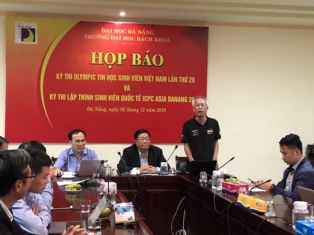 Hơn 700 sinh viên dự Olympic Tin học và lập trình viên quốc tế tại Đà Nẵng - 1