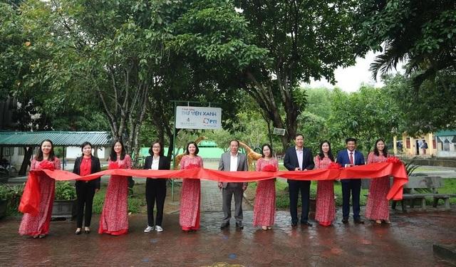 PTI trao tặng thư viện xanh cho trường Tiểu học Kỳ Lâm, Hà Tĩnh - 2