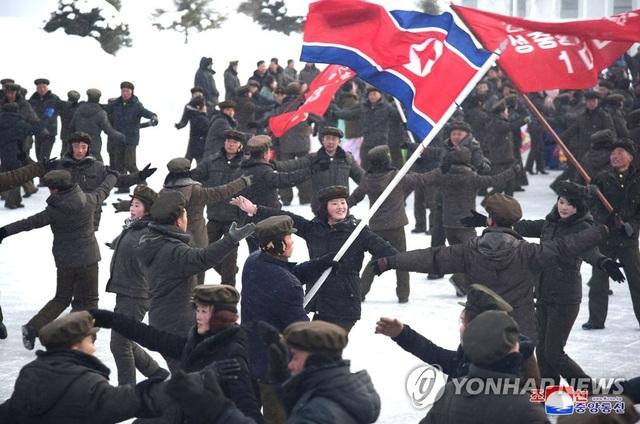 """Ông Kim Jong-un khai trương """"thành phố của nền văn minh hiện đại"""" cạnh núi thiêng - 7"""