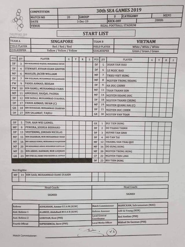 U22 Việt Nam 1-0 U22 Singapore: Đức Chinh ghi bàn quý giá - 32