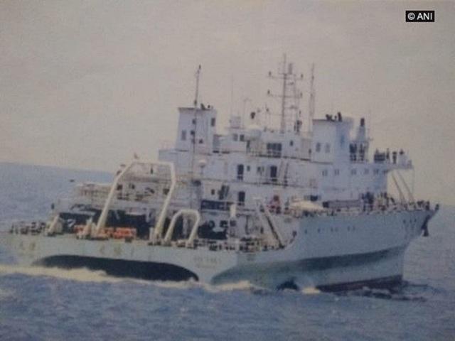 Tàu hải quân Ấn Độ rượt đuổi tàu khảo sát Trung Quốc - 1