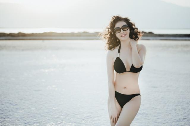 """""""Người đẹp không tuổi"""" Thanh Mai diện bikini khoe dáng ở biển Chết - 7"""