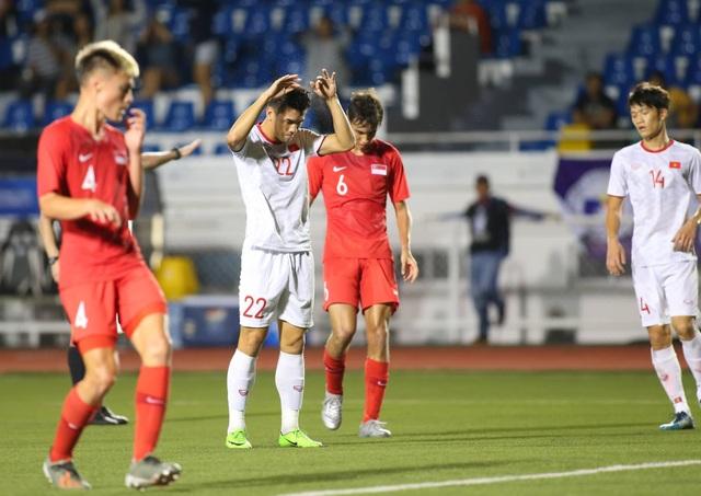 U22 Việt Nam 1-0 U22 Singapore: Đức Chinh ghi bàn quý giá - 5