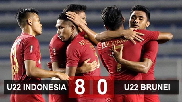 Đại thắng Brunei 8-0, U22 Indonesia vươn lên ngôi nhì bảng - 2