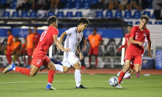 Báo Thái Lan tiếc nuối sau khi U22 Việt Nam thắng Singapore - 1