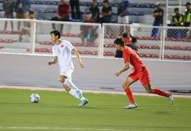 U22 Việt Nam 1-0 U22 Singapore: Đức Chinh ghi bàn quý giá - 12
