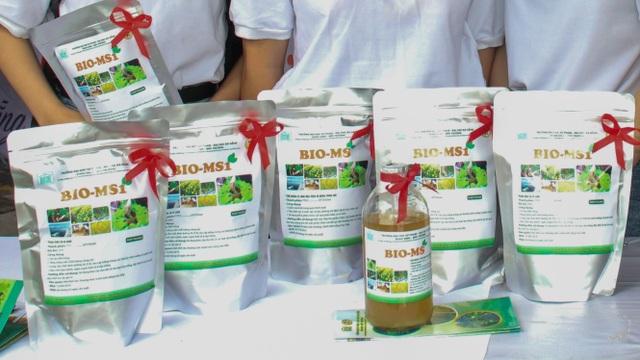 Nhóm sinh viên Đà Nẵng sản xuất thành công chế phẩm sinh học từ phân chim cút - 2