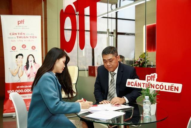 PTF mang đến trải nghiệm tài chính mới với sản phẩm cho vay lên đến 100 triệu đồng - 3