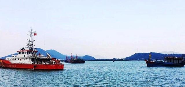 Lai dắt tàu cá gặp nạn cùng 6 thuyền viên vào bờ an toàn - 1