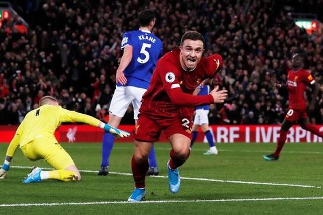Liverpool 5-2 Everton: Mưa bàn thắng ở Anfield - 2