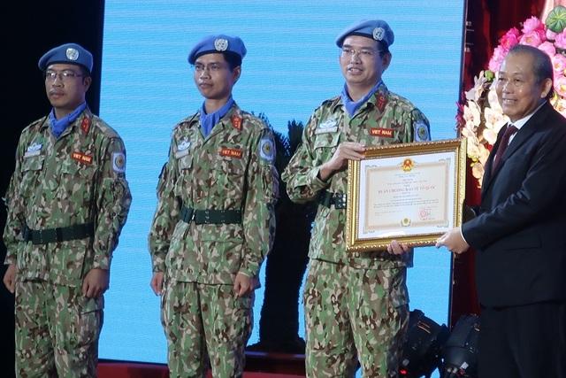 Quân y Việt Nam hoàn thành xuất sắc nhiệm vụ gìn giữ hòa bình - 3