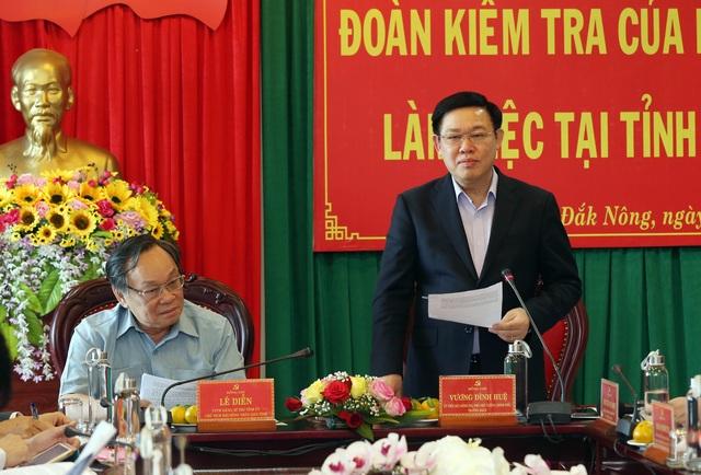 Bộ Chính trị làm việc tại Bình Phước và Đắk Nông - 3
