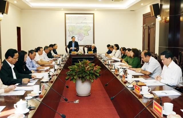 Bộ Chính trị làm việc tại Bình Phước và Đắk Nông - 2