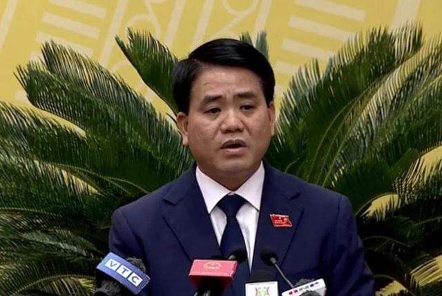 """Chủ tịch Hà Nội: Giám đốc Sở Tài chính phát biểu rất sai lầm về cơ cấu giá nước sông Đuống"""" - 1"""