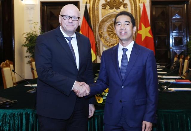 Việt - Đức tăng cường quan hệ đối tác chiến lược - 1