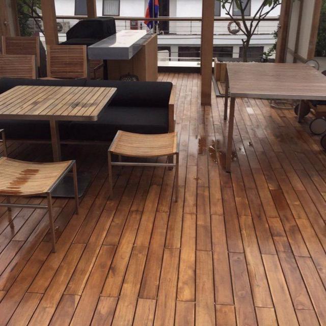 Sàn gỗ tự nhiên ngoài trời nên chọn loại nào tốt - 2