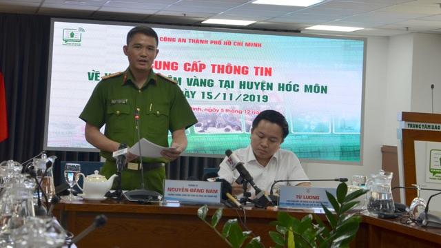 Hành trình truy bắt 3 đối tượng nổ súng cướp tiệm vàng ở TPHCM - 1