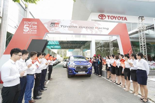 """""""Hành trình 5 châu cùng Toyota"""" đã kết thúc với điểm cuối là Việt Nam - 1"""
