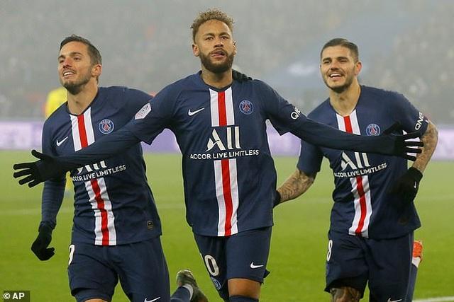 Neymar và Mabppe tỏa sáng, PSG xây chắc ngôi đầu Ligue 1 - 3