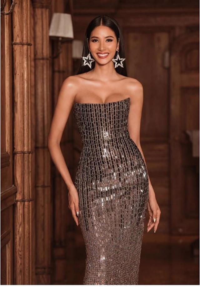 Hoàng Thuỳ được dự đoán vào Top 20, nổi bật bên Hoa hậu Hoàn vũ 2018 - 3