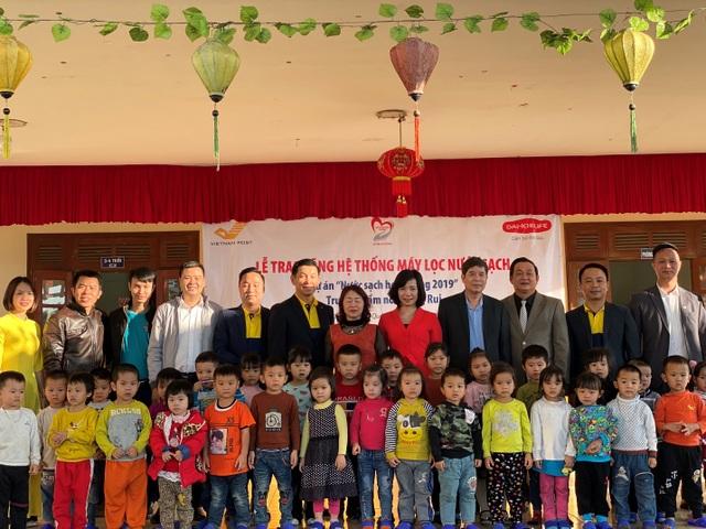 Quỹ Vì cuộc sống tươi đẹp của Công ty BHNT Dai-ichi Việt Nam và VNPost bàn giao hệ thống máy lọc nước tại Thanh Hóa và Quảng Ninh - 1