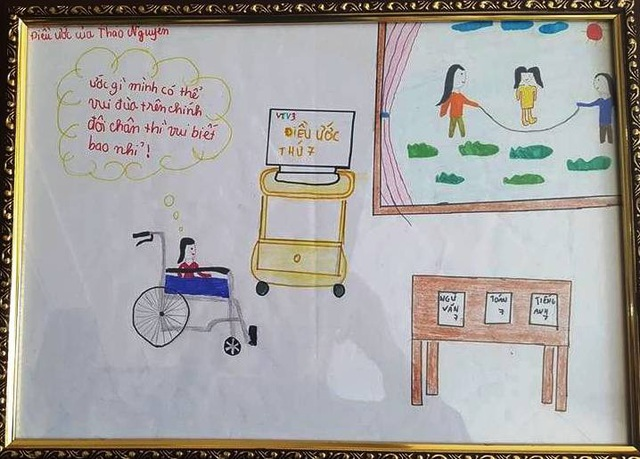 9 năm ngồi học trên xe lăn, cô gái ước có thể vui đùa trên chính đôi chân của mình - 3