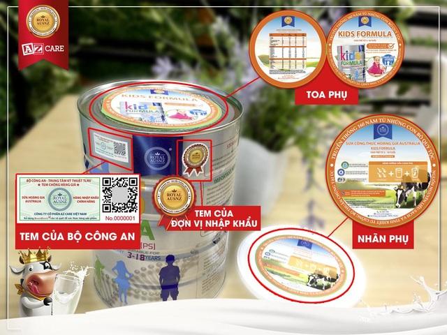 Cách nhận biết sản phẩm sữa hoàng gia Úc Royal Ausnz chính hãng tại Việt Nam - 1