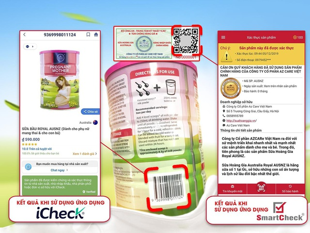Cách nhận biết sản phẩm sữa hoàng gia Úc Royal Ausnz chính hãng tại Việt Nam - 2