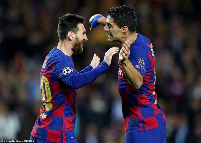 Barcelona và Real Madrid đua khốc liệt cho ngôi đầu bảng La Liga - 3