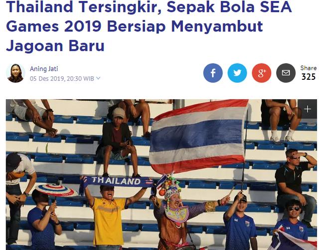 Báo Indonesia hả hê vì U22 Thái Lan bị loại sớm - 1