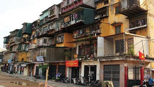 Chủ tịch Nguyễn Đức Chung nói về việc cải tạo chung cư cũ ở Hà Nội - 1