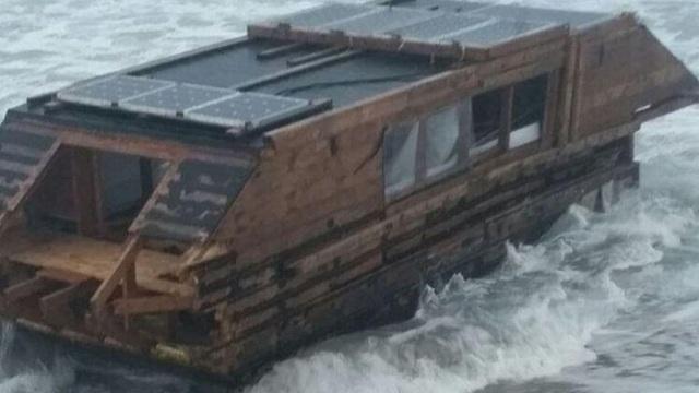 Bí ẩn đằng sau chiếc thuyền không người từ Canada trôi dạt đến Ireland - 1