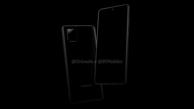 Galaxy Note 10 Lite lộ ảnh với thiết kế camera sau giống iPhone 11 - 1