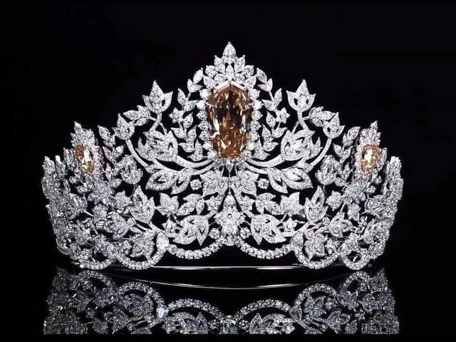 Ra mắt mẫu vương miện mới dành cho Hoa hậu Hoàn vũ 2019 - 2