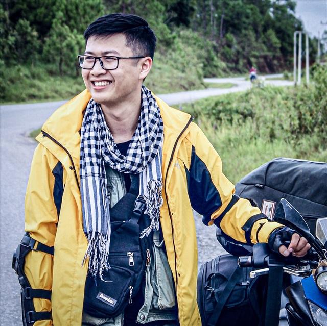 """3 lần đi xuyên Việt, """"phượt"""" Đông Nam Á bằng xe máy của 9x mê xê dịch - 1"""