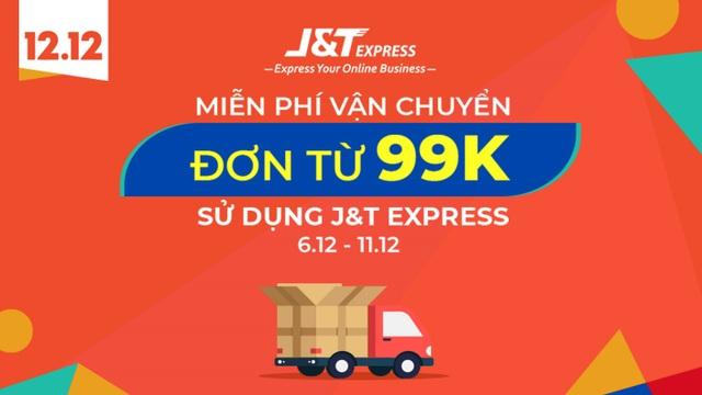 JT Express miễn phí vận chuyển cho đơn hàng từ 99k - 1