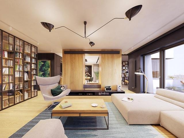 Chiêm ngưỡng căn hộ thiết kế ngẫu hứng đẹp cuốn hút - 2