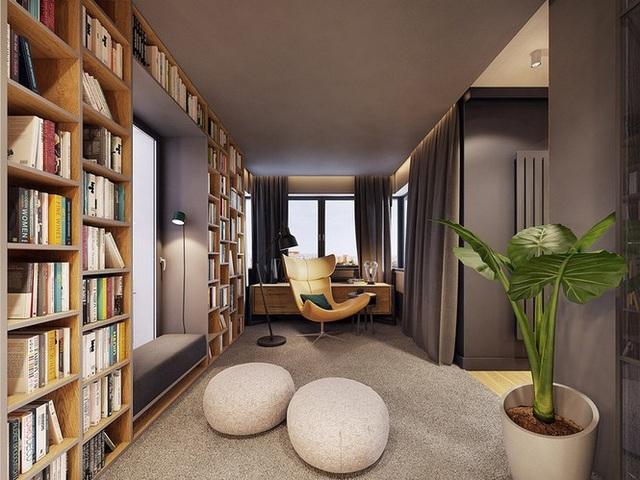 Chiêm ngưỡng căn hộ thiết kế ngẫu hứng đẹp cuốn hút - 3