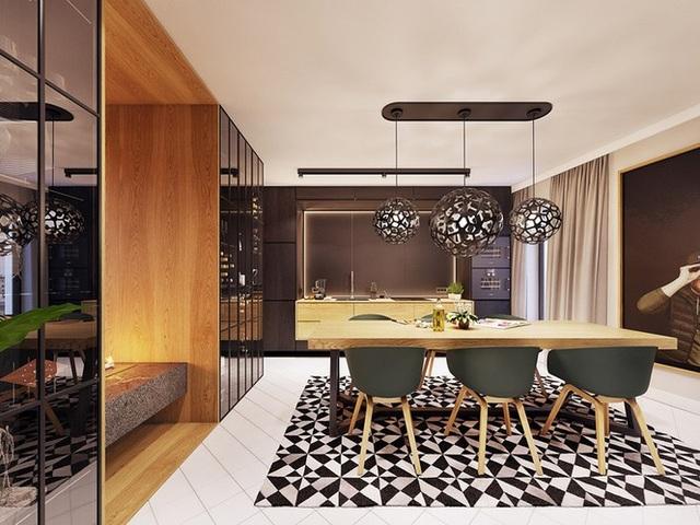 Chiêm ngưỡng căn hộ thiết kế ngẫu hứng đẹp cuốn hút - 4