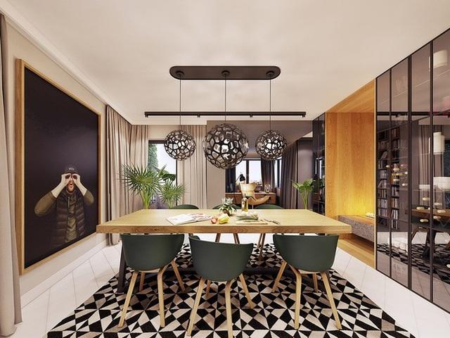 Chiêm ngưỡng căn hộ thiết kế ngẫu hứng đẹp cuốn hút - 5