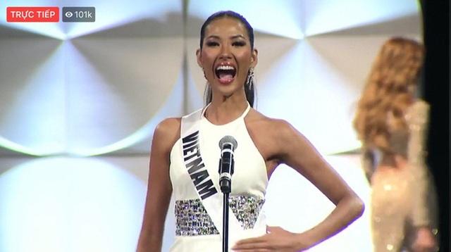 Bán kết Hoa hậu Hoàn vũ 2019: Hoàng Thùy xuất sắc trong phần trình diễn áo tắm - 3