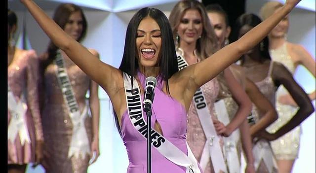 Bán kết Hoa hậu Hoàn vũ 2019: Hoàng Thùy xuất sắc trong phần trình diễn áo tắm - 5