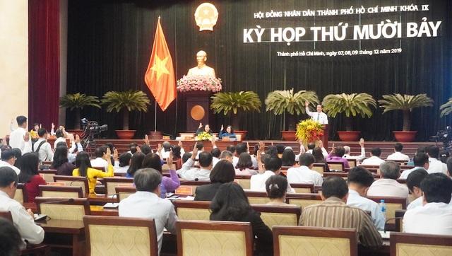 HĐND TPHCM miễn nhiệm 2 chức danh trưởng ban - 1