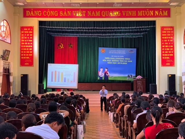 130.000 trẻ em mầm non và tiểu học Hà Nam thụ hưởng chương trình sữa học đường - 1